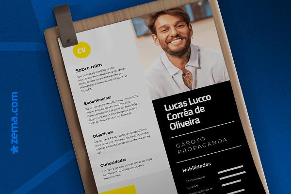 Seja bem-vindo, Lucas Lucco! Novo embaixador da Zema Financeira :)